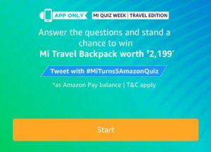 All Answers] Amazon Mi Quiz Week - Win Win Mi LED TV 49 Inch