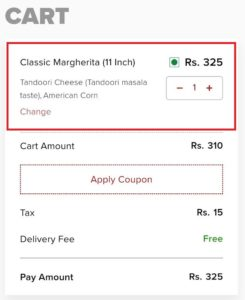 [Food Loot] Get Pizza Worth ₹310 In Just ₹55 | All Users