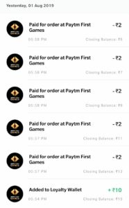 [Loot] Instantly ₹10 Free PayTM Cash From This PayTM's App