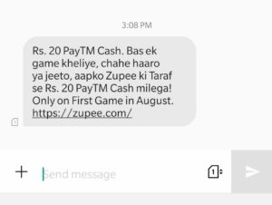 ₹500 Proof) Zupee Gold App - Free ₹37 PayTM cash Per