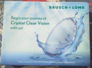[Freebie] Get Free Contact Lenses From Bausch And Lomb