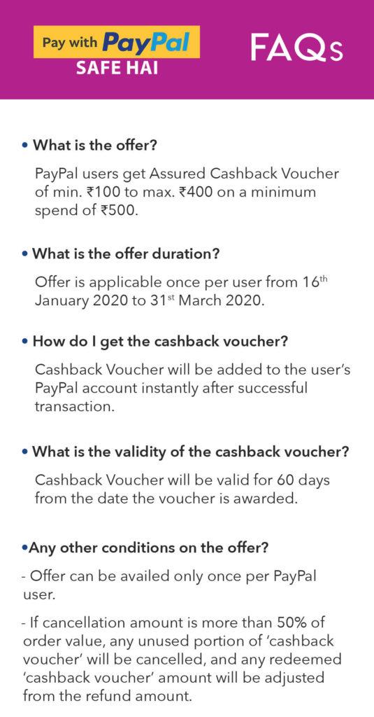 Myntra PayPal Offer