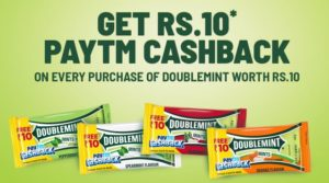 PayTM DoubleMint Offer - Get Free ₹10 DoubleMint