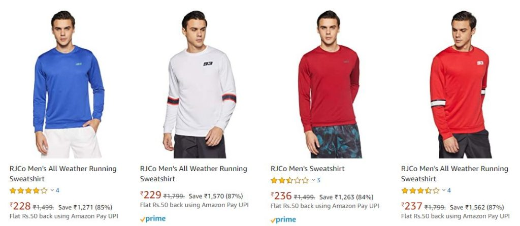 RJco Men's Sweatshirts Deal