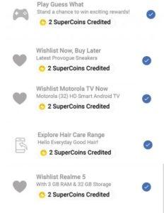 Flipkart Supercoin Loot