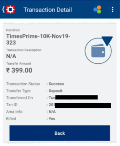 TimesPrime Free Subscription Offer