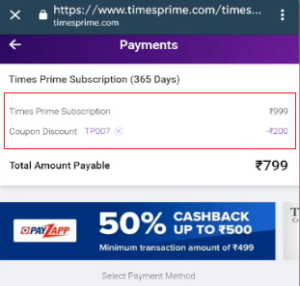 Timesprime free membership, Timesprime Subscription Free Swiggy Super, Times Prime App, Times Prime Coupon, Timesprime membership fee free 1st year.