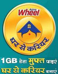 Wheel Jio Data Redeem Page