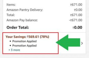 Amazon Loot - Shop For ₹500 & Get Free ₹500 Cashback