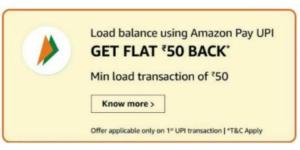 Amazon Add Balance Offer
