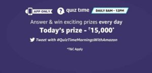 Amazon ₹15000 Pay Balance Quiz