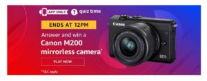 Canon M200 Mirrorless Camera