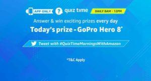 Amazon GoPro Hero8 Quiz - Answer and winGoPro Hero8