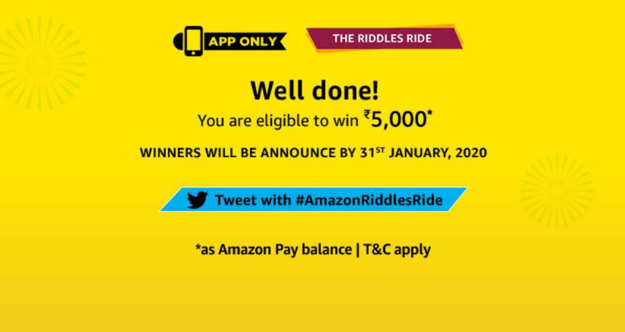 All Answers Amazon Riddles Ride Quiz Solve Win 5000