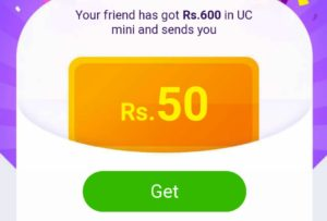 UC Browser Mini Refer Earn Free PayTM Cash of 300 Rs 1