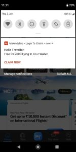 (Maha Loot) Flight Worth ₹2000 For Free In MakeMyTrip