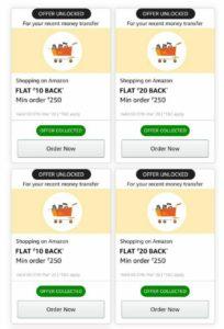 [New] Amazon Unlock Shopping Offer | Get 50% Back Upto ₹200/600