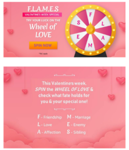 Amazon Wheel Of Love - Spin & Win Gifts For Valentine