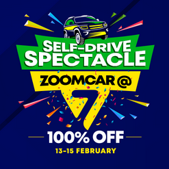 Zoomcar Anniversary Sale Discount Offer
