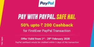 PayPal RuPay Card Offers