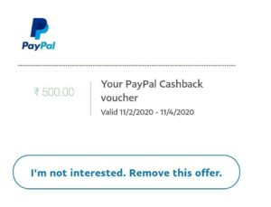BookMyShow PayPal Offer