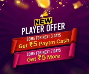 PayTM First Games Referral Reward