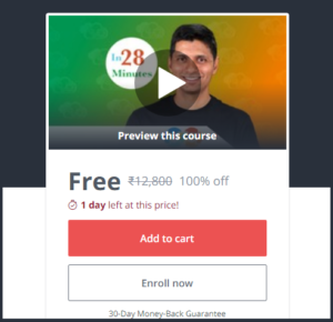 Udemy Paid Courses For Free