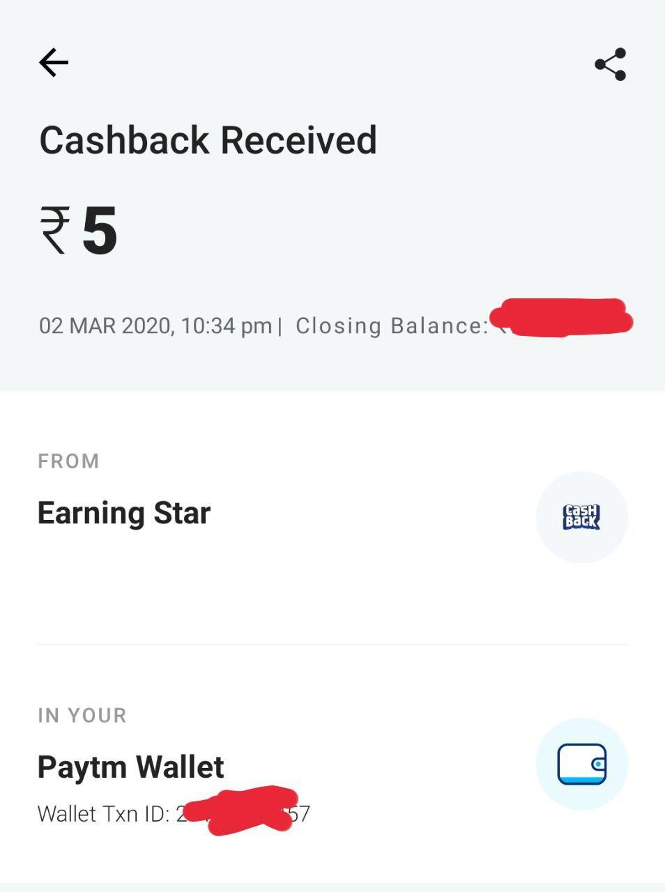 Over 5 Free Paytm Cash Instantly From Spin To Earn App