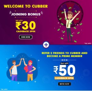 Cubber App Referral