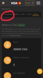 Coinsbit CNG Airdrop