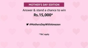 Amazon Mother's Day Quiz Answers
