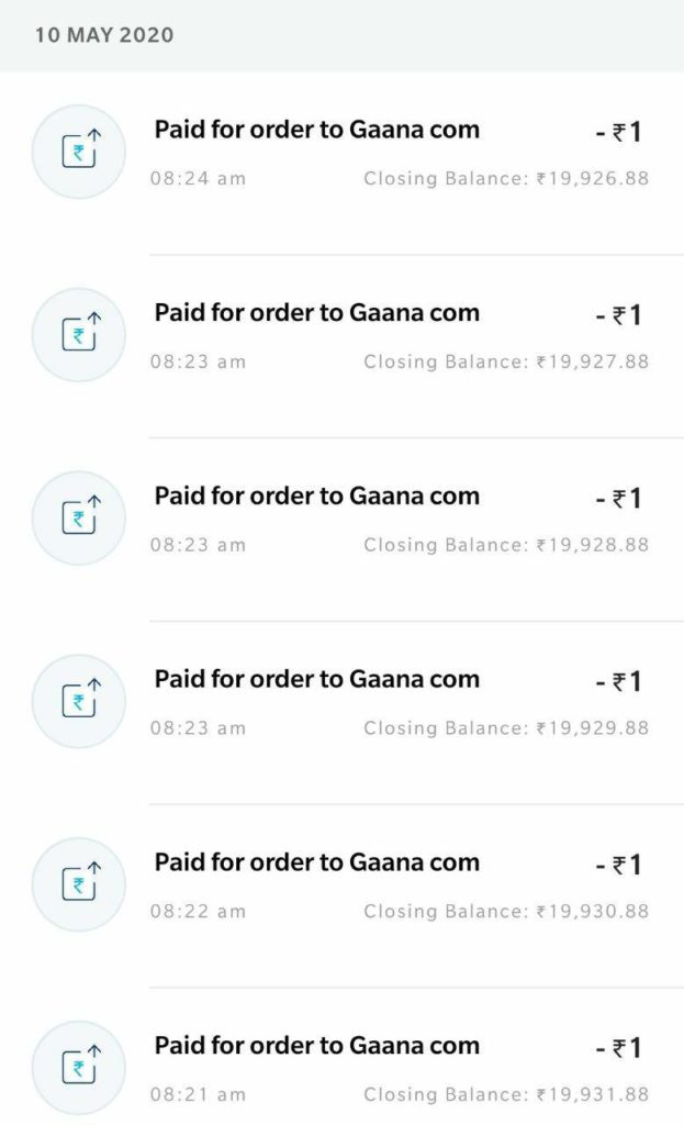 GAANA App 18 Months Free Premium Subscription Trick -