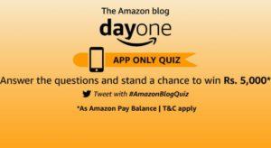 Amazon Blog Day One Quiz Answers