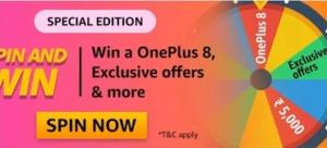 Amazon OnePlus 8 Quiz