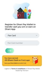 Dhani app referral code