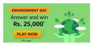 Amazon Environment Day Quiz Answers