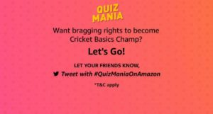 Amazon Quiz Mania Quiz Answers