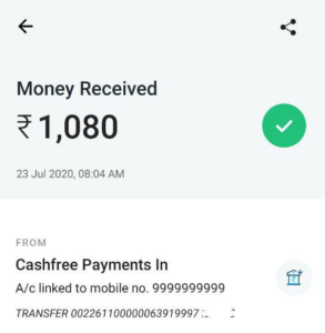 Coinswitch Refer Earn Payment Proof