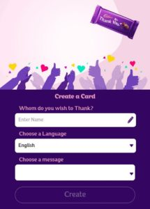 Jio Free DairyMilk - Create Card & Grab Free DairyMilk Coupon On MyJio