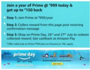 Prime Day shopping rewards