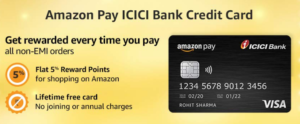 Amazon Pay ICICI Credit Card Offers