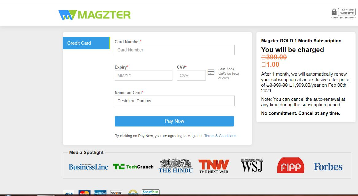 magzter 1 Month Subscription For FREE