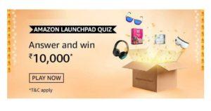 Amazon Launchpad Quiz Answers