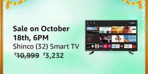 Shinco 32 inch TV Amazon Flash Sale