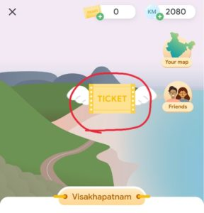 Google Pay Go India Collect Tickets Visit India Offer