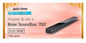 Bose Soundbar 700 Quiz Answers