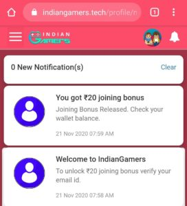 IndianGamers Refer Earn Free PayTM Cash