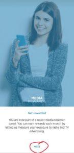 Media Rewards App