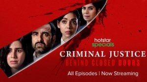 Watch Criminal Justice Season 2 Web Series Free Hotstar