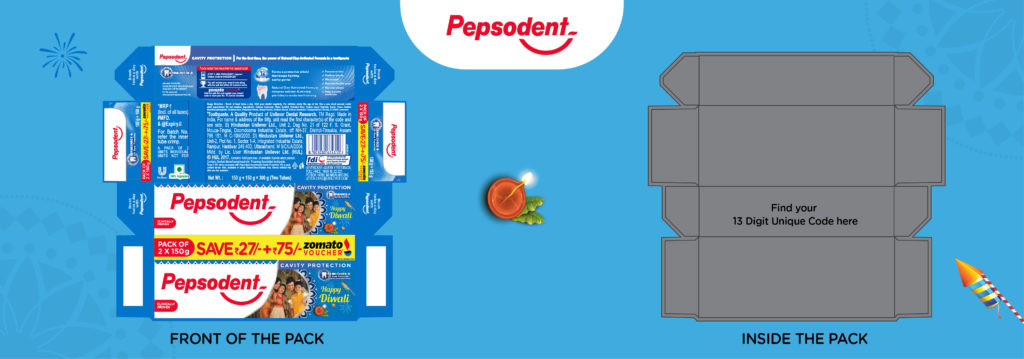 Pepsodent Zomato Offer